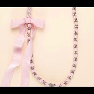 Juicy Couture pink wrap necklace
